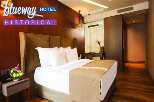 I li blueway hotel historical 39 da 2 ki i kahvalt dahil for Blueway hotel historical