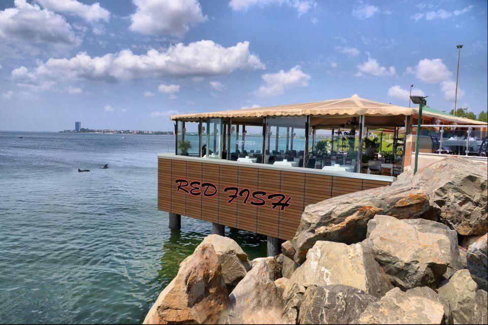 Red fish bal k restaurant atak y marina 39 da y lba for Red fish catering
