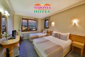 Kadıköy Sidonya Hotel'de 2 Kişi 1 Gece Kahvaltı Dahil Konaklama (SINIRLI SAYIDA)