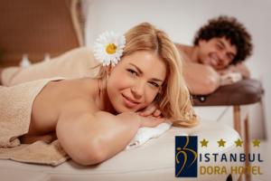 İstanbul Dora Hotel Gold Spa Center'da Masaj, Islak Alan Kullanımı, Bakımlar, Çiftlere Özel Masajlar ve İkramlar