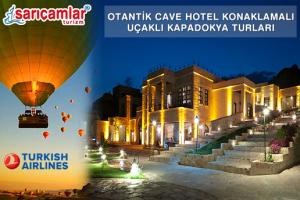 Kapadokya'nın En Büyük Kaya Oteli MDC Cave Hotel Konaklamalı ve Havayolu Ulaşımlı Ek Bedelsiz 1 Gece 2 Gün Kapadokya Turu