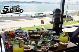 Üsküdar Cafe 5. Cadde'den Güne Bomba Gibi Bir Giriş Yapmanızı Sağlayacak Kahvaltı Tabağı, Serpme Kahvaltı veya Açık Büfe Kahvaltı Menüleri