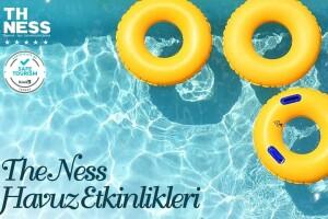 5 Yıldızlı The Ness Termal Hotel'de 5 Çayı İkramları Dahil Tüm Gün Açık Havuz Kullanımı