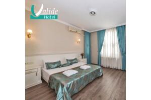 Osmanbey Valide Hotel'in İhtişamlı Atmosferinde Çift Kişilik Konaklama Seçenekleri