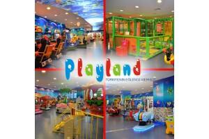 Türkiye'de 66 Şubesi Bulunan Playland'in Renkli Dünyasında Geçerli Oyun Kartları 17 TL'den Başlayan Fiyatlarla!