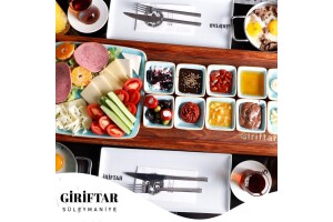 Giriftar Süleymaniye Cafe'de Enfes Lezzetlerle Dolu Serpme Kahvaltı Keyfi