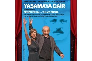 Nazım Hikmet'in Zorlu Hayatını Konu Alan, Genco Erkal'ın Sahnelediği 'Yaşamaya Dair' Adlı Oyun İçin Tiyatro Bileti
