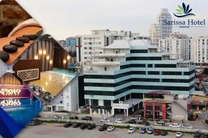 Beylikdüzü Sarissa Hotel'de 2 Kişi 1 Gece Konaklama ve Açık Büfe Kahvaltı