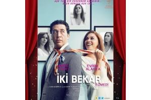 Emre Kınay ve Evrim Alasya'nın Başrol Oynadığı 'İki Bekar' Tiyatro Oyunu Bileti