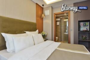 Harbiye Blueway Hotel City'den Şehrin Göbeğinde Çift Kişilik Kahvaltı Dahil Konaklama Keyfi
