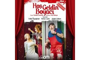 Erdal Özyağcılar, Berna Laçin ve Gözde Çetiner İle 'Hoşgeldin Boyacı' Tiyatro Oyunu Bileti