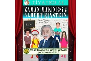 Zaman Makinesi 2 Albert Einstein İsimli Çocuk Oyununa Tiyatro Bileti