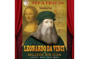 Tiyatro 34'den 'Leonardo Da Vinci İle Müzede Bir Gün' Adlı Çocuk Tiyatro Oyununa Bilet