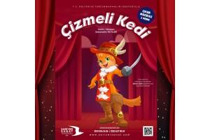 Çizmeli Kedi Çocuk Tiyatro Oyununa Bilet