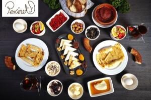 Peximet'in 2 Şubesinde Geçerli Nefis Kahvaltı Menüleri