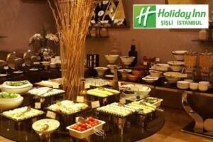 Holiday Inn Şişli'den Hafta İçi ve Cumartesi Günü Geçerli Limitsiz Çay Dahil Zengin İçerikli Kişi Başı Açık Büfe Kahvaltı Menüsü