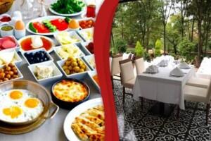 Atakoru'da Sınırsız Çay ile Serpme Kahvaltı Keyfi