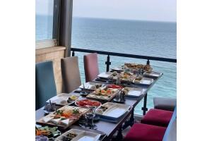 Mudanya Blue Cafe'de Denize Nazır Leziz Kahvaltı