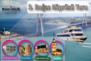Bosphorus Organization'dan Açık Büfe Öğle Yemeği Eşliğinde 3. Boğaz Köprüsü Gezisi