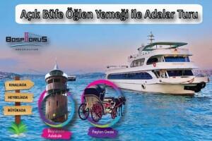 Bosphorus Organization İle Açık Büfe Limitsiz Öğle Yemeği Eşliğinde Adalar Turu