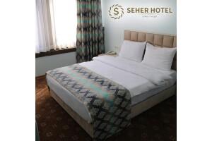 Seher Hotel'de Tek veya Çift Kişilik Konfor Dolu Konaklama Seçenekleri