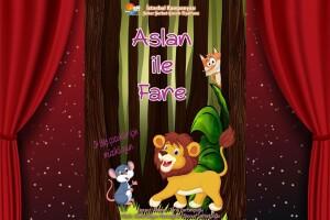 'Aslan İle Fare Adlı Çocuk Tiyatro Oyununa Bilet