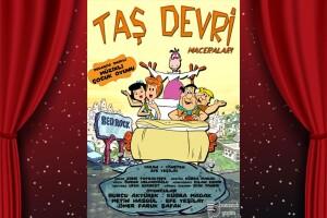 Çocukların Keyifle İzleyeceği 'Taş Devri Maceraları' Tiyatro Oyunu Bileti