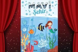Doğa Sevgisi Aşılayan 'Mavi Şehir' Adlı Çocuk Tiyatro Oyunu Bileti