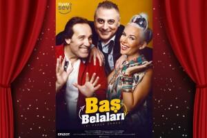 Ünlü Oyuncular Yosi Mizrahi, İpek Tanrıyar ve Dost Elver'in Oynadığı Kahkaha Dolu 'Baş Belaları' Tiyatro Oyunu Biletleri