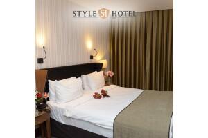 Style Hotel Şişli'de Tek veya Çift Kişilik Kahvaltı Dahil Konaklama