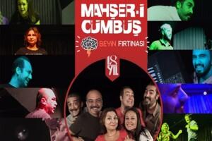 Doğaçlama Tiyatronun Öncüsü Mahşer-i Cümbüş'ten Eğlence Dolu 'Beyin Fırtınası' Oyunu