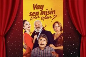 Ünlü Oyunculardan Komedi Sevenlere 'Vay Sen Misin Ben Olan' Tiyatro Oyunu Bileti
