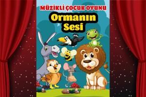 Eğlence Dolu 'Ormanın Sesi' Çocuk Tiyatro Oyunu Bileti