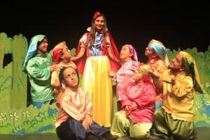 'Pamuk Prenses ve Yedi Cüceler' Çocuk Tiyatro Oyunu Bileti