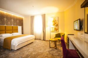 Haramidere Comfort Hotel'de Konfor Dolu Tek veya Çift Kişilik Konaklama Seçenekleri
