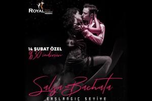 Royal Dans Akademi'den 1 Aylık Zumba veya Latin Dansı (Salsa - Bachata) Dersi