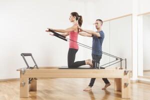 Vav Spor Merkezi'nden Düet Reformer Pilates Dersi