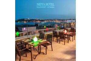 Nidya Hotel Galataport'tan Her Gün Geçerli Kahvaltı Dahil Konaklama Seçenekleri