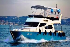 Poseidon Yachting'te Süsleme Dahil 1 Saat Tekne Turu