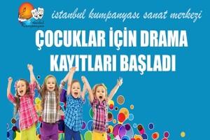 İstanbul Kumpanyası'ndan Yetişkin Tiyatro Çalışmaları Meslek Üstü Tiyatro ve Çocuk Drama ve Tiyatro Eğitimi