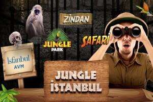 İsfanbul AVM Jungle İstanbul'un Eğlence ve Heyecan Dolu Dünyasına Giriş Bileti
