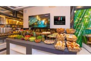 Skalion Hotel'den Her Gün Geçerli Sınırsız Çay Eşliğinde Serpme veya Açık Büfe Kahvaltı