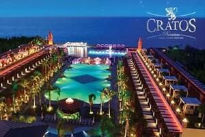 Kıbrıs Cratos Hotel Premium'da Uçak Dahil Tam Pansiyon Plus Tatil Paketleri