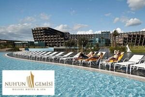 Kıbrıs Nuh'un Gemisi Deluxe Hotel'de Uçak Bileti Dahil Ultra Her Şey Tatil Paketleri