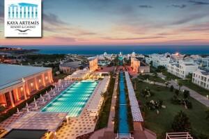 Kaya Artemis Hotel Tatil Köyü'nde Uçak Dahil Ultra Her Şey Dahil Tatil Paketleri