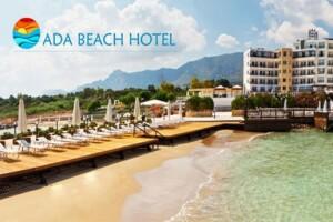 Kıbrıs Ada Beach Hotel'de Uçak Bileti Dahil Yarım Pansiyon 7 Gece Tatil Paketi