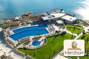 Kıbrıs Girne 5 Yıldızlı Lord's Palace Hotel'de Uçak Bileti Dahil 7 Gece Tam Pansiyon Plus Tatil