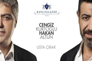 Kıbrıs Kaya Palazzo Resort Hotel'de Uçak Bileti & Hakan Altun ve Cengiz Kurtoğlu Galalı Tam Pansiyon Plus 2 - 3 Gece Konaklama