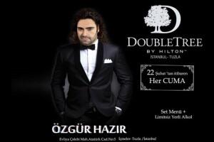 Double Tree By Hilton Tuzla'dan Her Cuma Fasıl Eşliğinde Akşam Yemeği ve Konaklama Seçeneği