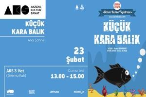 'Küçük Kara Balık' Çocuk Tiyatro Oyunu Bileti